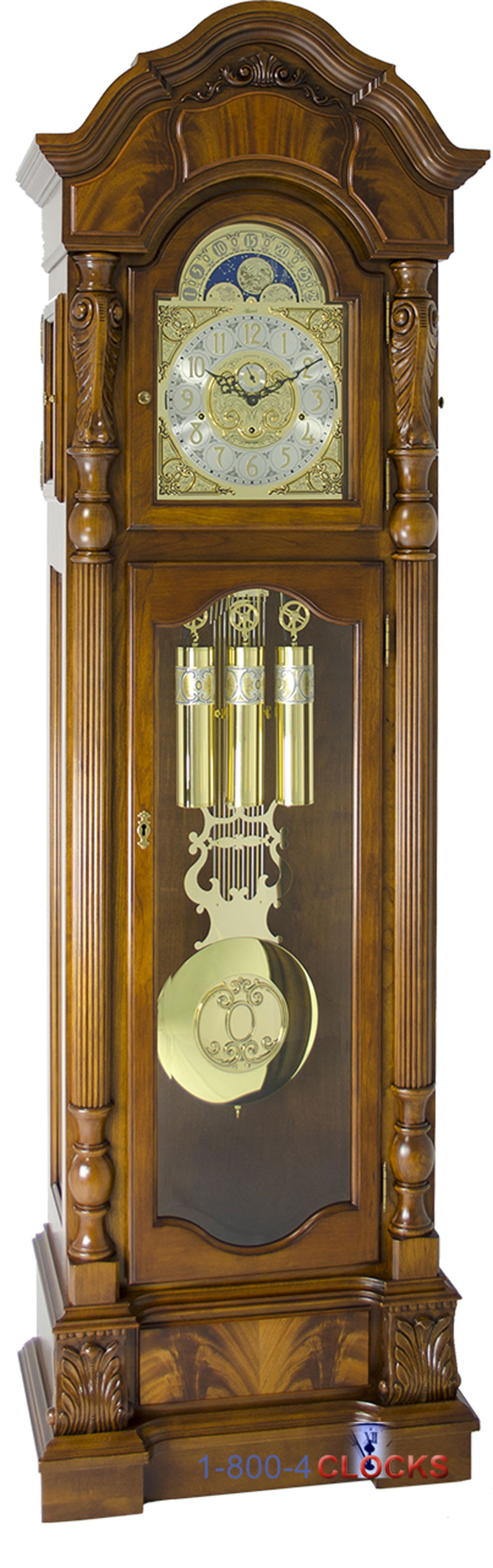 how to set the time on a hermle grandfather clock