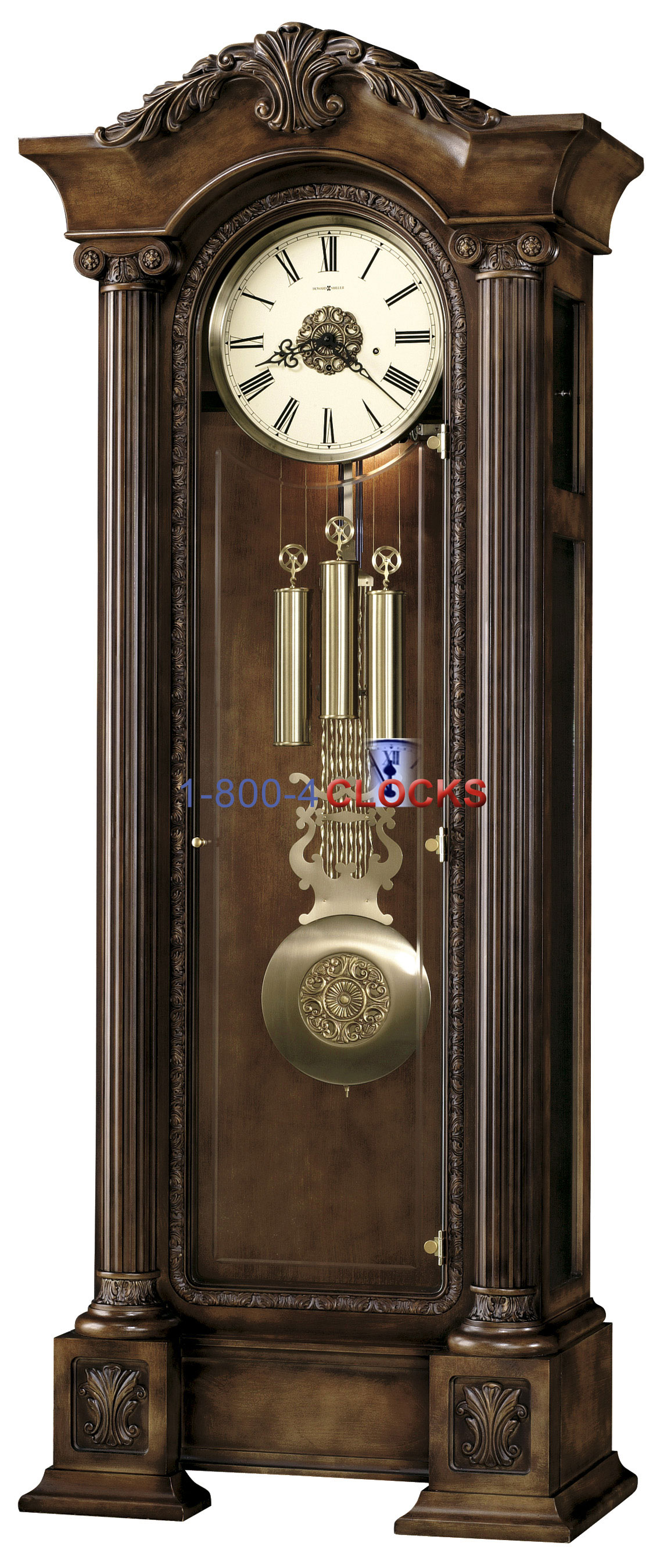 New York And Company Credit Card Payment >> Howard Miller Chatham II Grandfather Clock at 1-800 ...