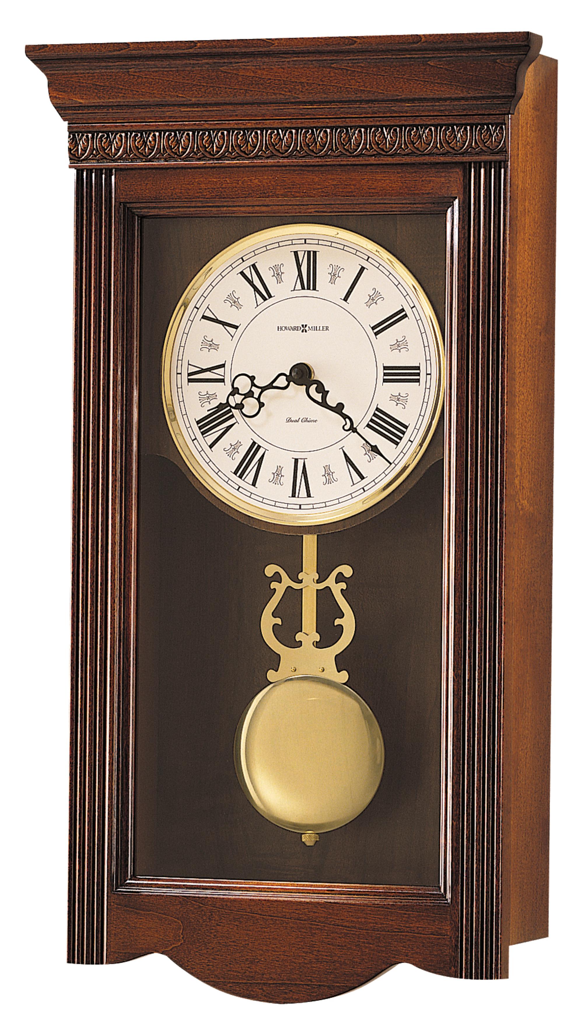 Howard miller eastmount wall clock at 1 800 - Wall mounted grandfather clock ...