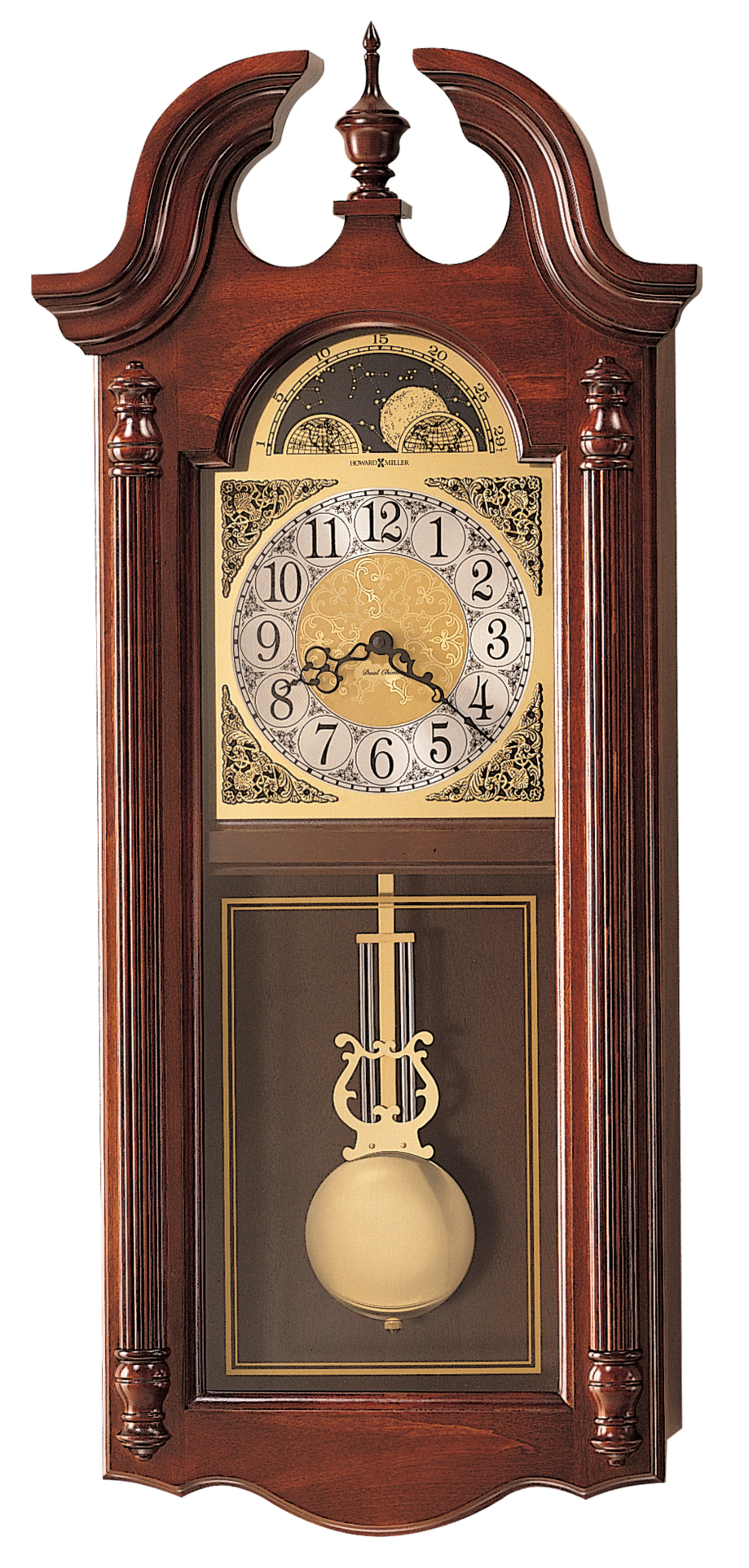 Howard Miller Fenwick Wall Clock At 1 800 4clocks Com