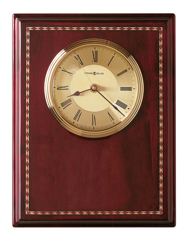 howard miller honor time ii wall desk clock at 1 800