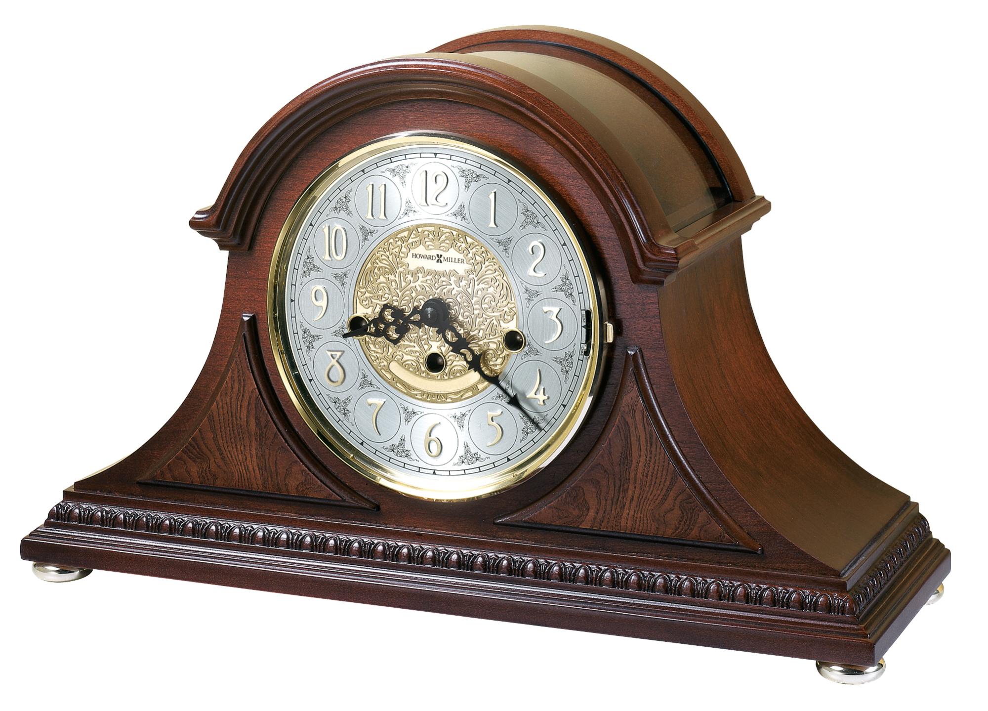 Howard miller barrett mantel clock at 1 800 4clocks howard miller barrett mantel clock amipublicfo Gallery