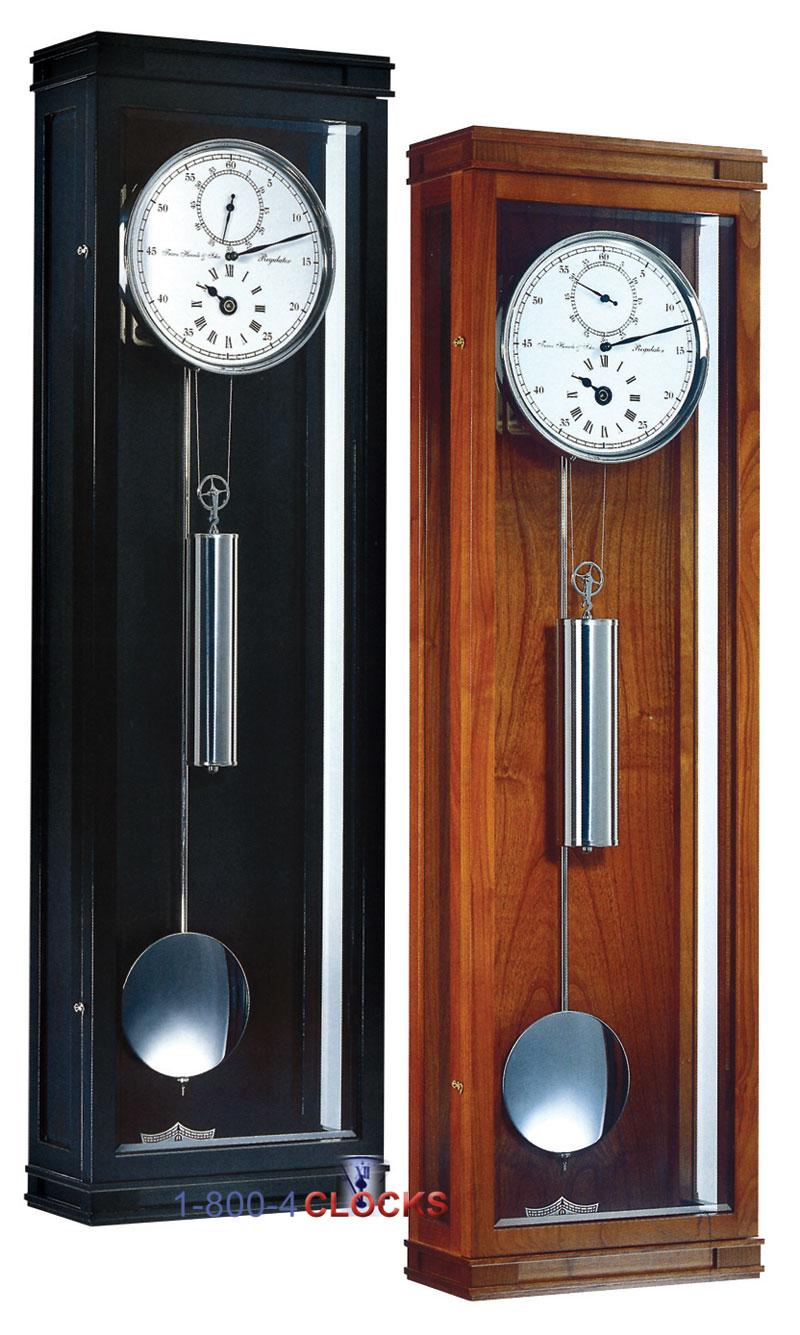 Hermle Greenwich 30 Day Astro Regulator Wall Clock Black At 1 800