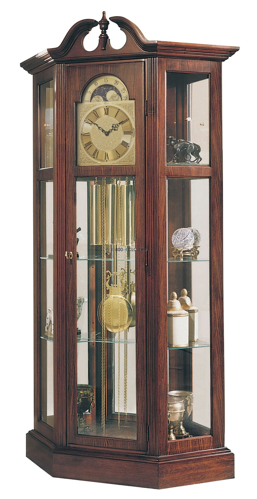 Ridgeway Richardson I Curio Grandfather Clock At 1 800