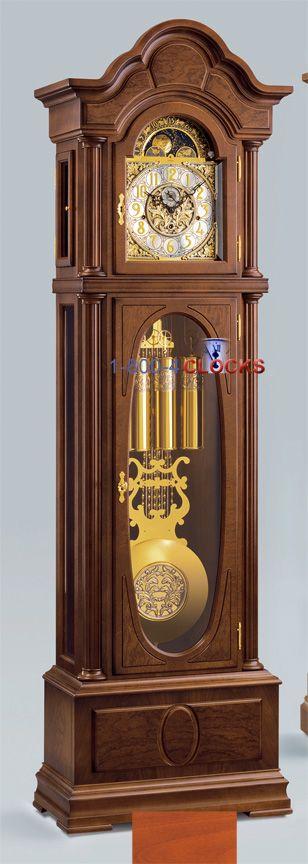 Kieninger Favre Grandfather Clock At 1 800 4clocks Com