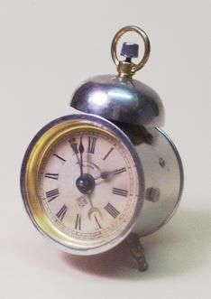 Antique Ansonia Bee Alarm Clock At 1 800 4clocks Com