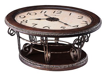 Howard Miller Galliano Clock Coffee Table