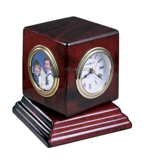 Howard Miller Reuben Cube Table Clock