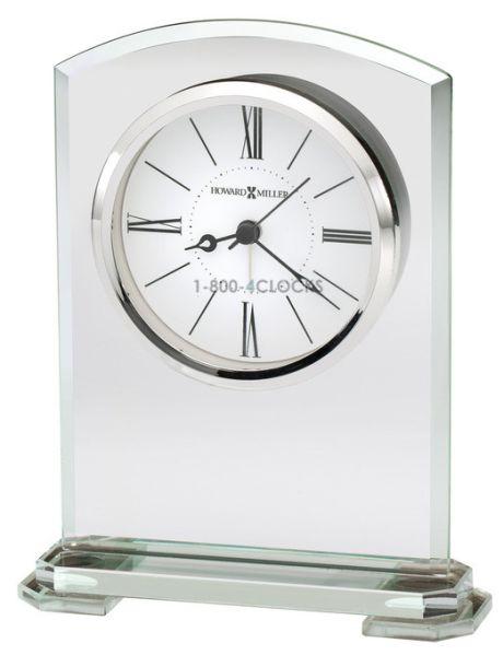 Howard Miller Anson Glass Table Clock