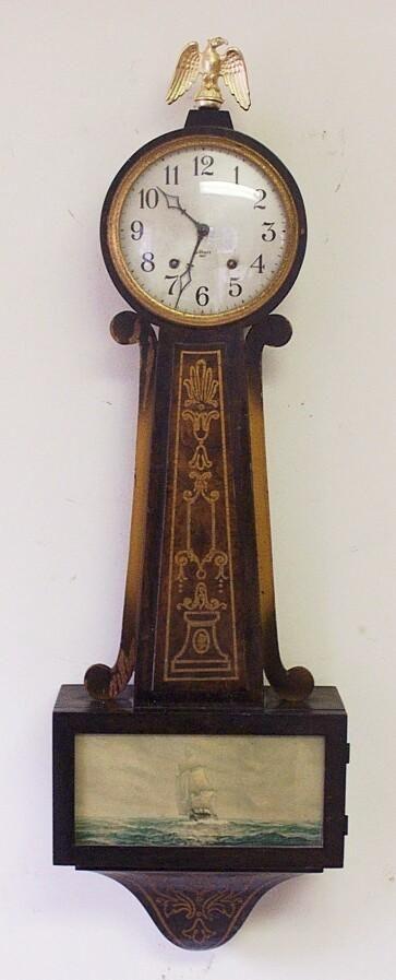 Gilbert Banjo Antique Wall Clock At 1 800