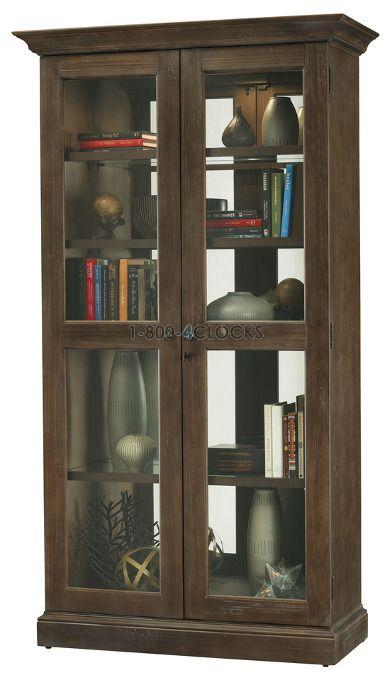 Howard Miller Lennon Collectors Cabinet Floor