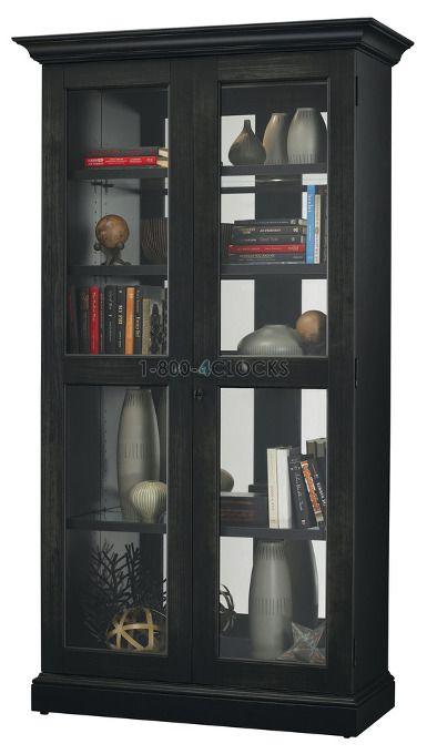 Howard Miller Lennon Ii Collectors Cabinet Floor At 1 800