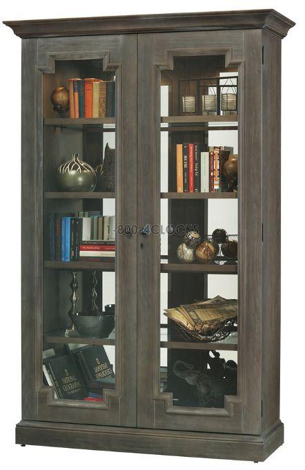 Howard Miller Desmond Collectors Cabinet Floor