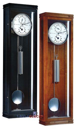 Hermle Greenwich 30 Day Astro Regulator Wall Clock Black