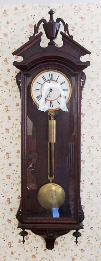 George Jones Clock Company Pinwheel Regulator Clock Ac3007