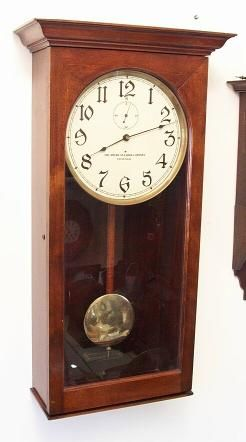 Self Winding American Clock Company Of Chicago Clock At 1