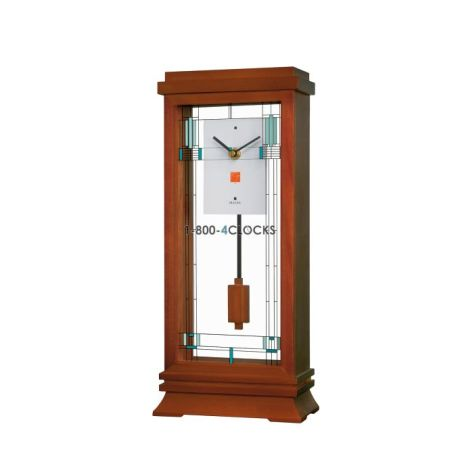 bulova frank lloyd wright collection willits mantel clock. Black Bedroom Furniture Sets. Home Design Ideas