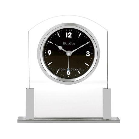 Bulova Newton Desk Clock At 1 800 4clocks Com